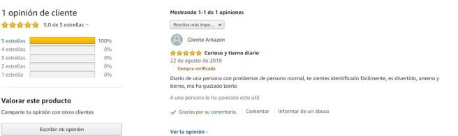 OPINION AMAZON DIARIO DE UNA REDACTORA PECULIAR