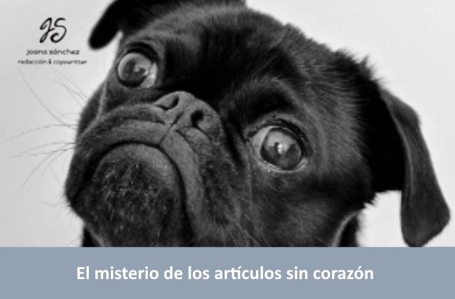 EL MISTERIO DE LOS ARTÍCULOS SIN CORAZÓN