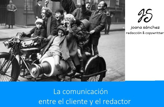 VENTAJAS DE UNA BUENA COMUNICACIÓN CLIENTE REDACTOR JUANA SANCHEZ GONZALEZ